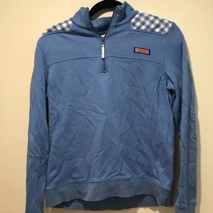 Vineyard Vines Light Blue Checkered Shep Shirt